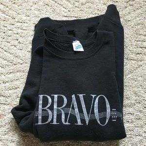 Vintage BRAVO sweatshirt jerzees xxl